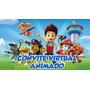 Vídeo Convite Virtual Animado Para Aniversário - Patrulha