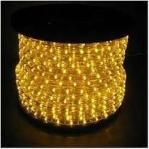 Mangueira Luminosa Led 50mts Amarelo 220v