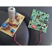 Placa Fm Pll Estéreo + Placa Amplificadora De 4,5w