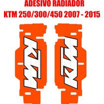 Adesivos De Radiador Ktm 250/300/450 ( 07 - 15 )