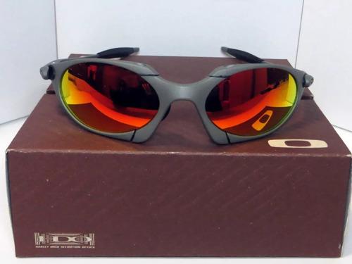 Óculos Oakley Romeo1 24k Lente Ruby + Certificado 9efe255a33451