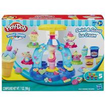 Massinha Play-doh - Sorveteria Divertida + Brinde