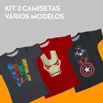 2b8c4ecae Busca Camisetas Marvel com os melhores preços do Brasil - CompraMais ...
