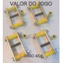 Jogo Jumelos Feixe De Molas Jeep Willys Cj3 C/ Bucha Fixa