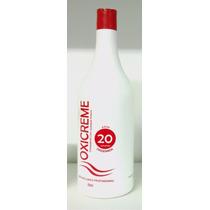 Água Oxigenada 20 Volumes Lánoly Cremosa Profissional 950 Ml