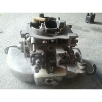 Carburador 2e Alcool + Coletor Aluminio Opala 4c