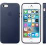 Capa Capinha Couro Premium Apple Iphone 5 5s Se+1 Pelicula