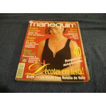 Revista Manequim Nº 11 Ed 431 -c/moldes -natalia Val- Nov/95