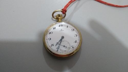 096f69709b6 Raridade Relógio Omega De Bolso Dourado Antigo Coleção