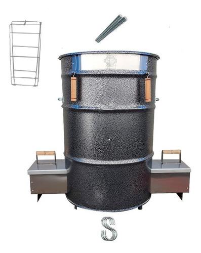 Churrasqueira Tambor Costela De Chão-bbq Kansas