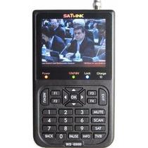 Localizador De Satélite Antena Satlink Ws6906 - Garantia