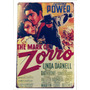 Placas De Propaganda Antigas Vintage Retro Chapa - Zorro