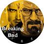 Relógio De Parede Breaking Bad A Casa De Papel Serie Mdf