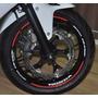 Friso Refletivo Adesivo Roda Interno Moto Honda Cb 650 F M3