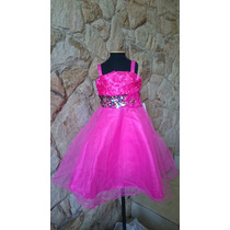 Vestido Infantil/festa/casamento Pink Ou Verde Paetês