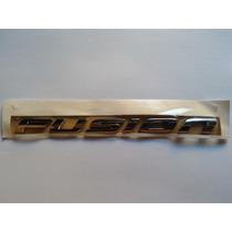 Emblema Adesivo Sigla Letras Fusion Original Ford