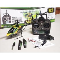 Helicoptero V912 4ch Completo 2.4ghz + Bateria Extra Grátis