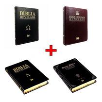 Kit Di Nelson Bíblia Chronos + Alpha At + Omega Nt + Santa