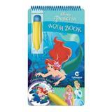 Aquabook Princesas Disney Pinta Com Água Livro Capa Dura