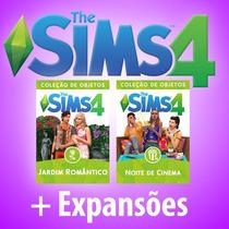 The Sims 4 + Todas Expansões E Pacotes - Portugues + Novas