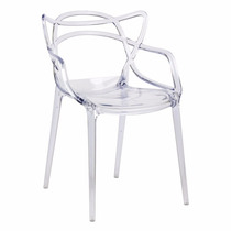 Cadeira Allegra - Masters - Transparente Policarbonato