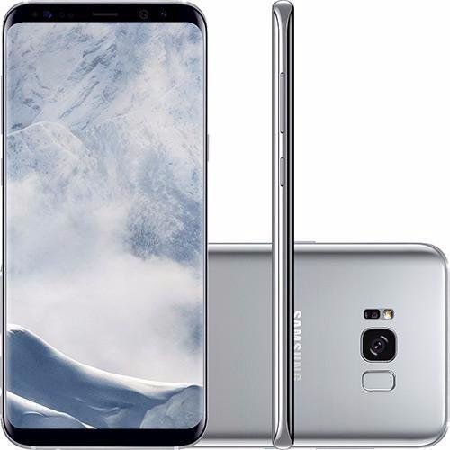 Celular Samsung Galaxy S8 Plus Dual Android 7.0 Prata