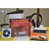 Kit Home Estudio Tascam Track Pack X1 All In One Placa Audio