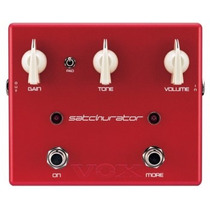 Pedal Vox Ds-9 Satchurator | Distorção | Joe Satriani Sig