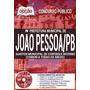 Apostila Prefeitura De João Pessoa - Auditor Municipal