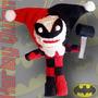 Pingente Celular Batman, Harleyquinn Boneco Pano K-dc-0032-v