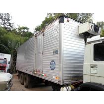 Baú Aluminio Revestido E Refrigerado C/ Equipamento 8 Metros