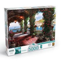 Quebra-cabeça Puzzle Tarde Na Varanda 5000 Peças - Grow