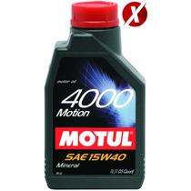 Óleo Motul 4000 Motion 15w40 Mineral 4 Litros