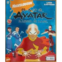 Álbum Figurinha Completo Colado Abril Avatar A Lenda De Aang