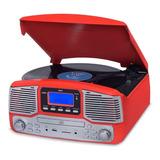 Toca Disco Jazz Harmony Vitrola Cd Gravação Bluetooth Fm