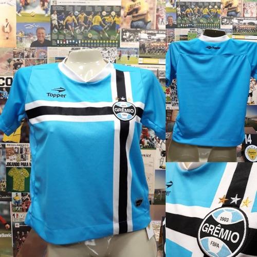 Camisa Grêmio - Topper - Feminina - P - 2011 - S nº c4fe6de5d4930