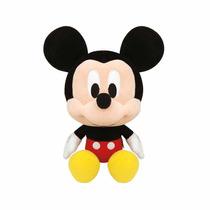 Pelúcia Mickey Big Head 25cm Disney Original Long Jump