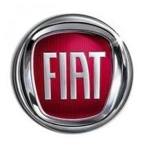 Emblema Calota Fiat 48mm Cor Vermelha Autocolante