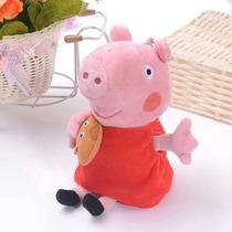 Boneco De Pelúcia Peppa E George - Peppa Pig