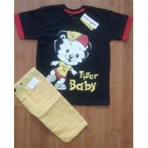 Conjunto Infantil Tipo Tigor Baby - Tamanho 6