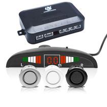 Kit Sensor De Estacionamento Ré Automotivo Para Carro Baliza