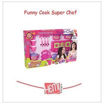 Super Kit Chef Funny Cook 23 Peças