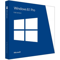 Windows 8.1 Pro 32/64 Bits - Chave Original Vitalícia - Fpp