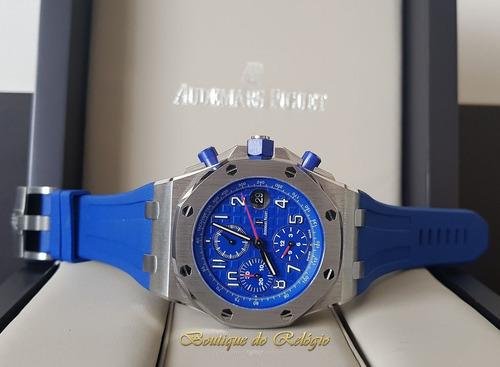 8d4c2a518bb Relógio Eta - Modelo Ap Roo Blue Baselworld 2018 - 42mm