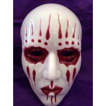 Máscara Cosplay Joey Jordison Branca Lágrima Banda Slipknot