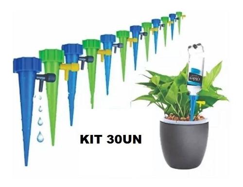 Kit C/ 30 Gotejador Irrigador Acoplável Em Garrafa Pet