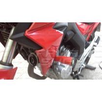 Slider Protetor Motor Cb 250 Nova Twister 2015 2016 Vermelho