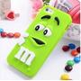 Capa Case Capinha Silicone 3d Mms Chocolates Iphone 6 6s
