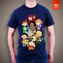 Camiseta Tv E Desenhos Caverna Do Dragão 100% Algodão Tshirt