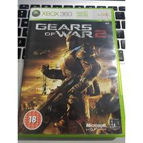 Jogo Xbox 360 Original Gears Of War 2 Muito Barato Veja!!!!